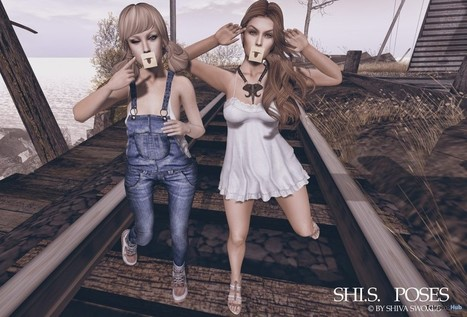 We Have Fun Pose Group Gift by Shi.S | Teleport Hub - Second Life Freebies | Second Life Freebies | Scoop.it