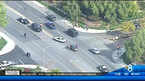 Multi-car accident involving probation van - KFMB News 8 | California Car Accident Lawyer | Scoop.it