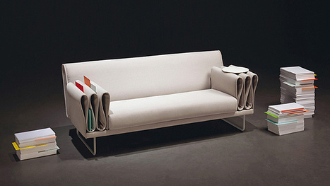 The Tri-Folds Sofa Gives You Plenty of Places to Stash the Remote   Extreme Design   Conception extrême   Scoop.it