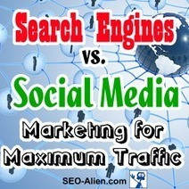 Search Engines vs. Social Media Marketing for Maximum Traffic | Allround Social Media Marketing | Scoop.it