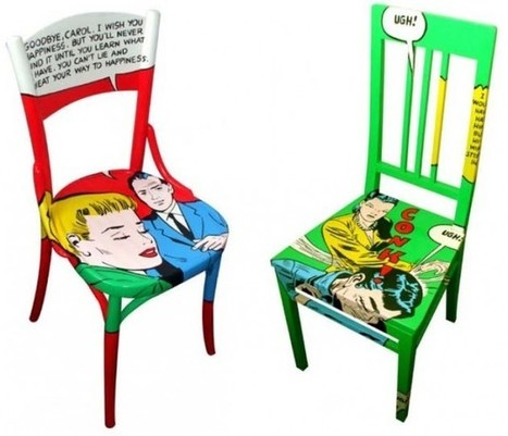 27 Cool Furniture Ideas Inspired by Pop ART   Upcycled Objects   Scoop.it