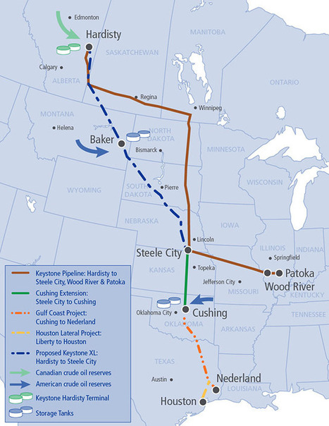 About The Project | Keystone XL Pipeline | JHS Energy | Scoop.it