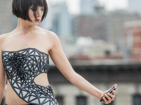 3D-printed dress exposes your body as you reveal data | Higher Education & Privacy | Scoop.it