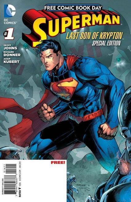 COMICS: Scott Snyder's MAN OF STEEL Part Of DC's Free Comic ... | Comic books | Scoop.it