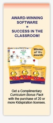 Develop elementary reading comprehension, writing and math skills with Kidspiration® | inspiration.com | Using Technology Curriculum in the classroom with students with special needs. | Scoop.it