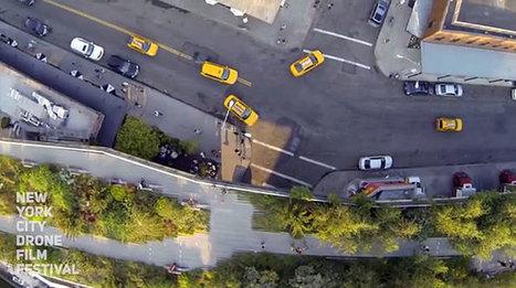 New York va accueillir le 1er Festival du film tourné avec des drones !   Drone   Scoop.it