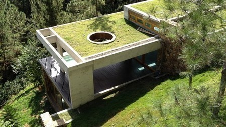 RD House keeps naturally cool inside a Dominican Republic hillside | GizMag.com | Homes | Scoop.it