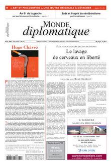 Hugo Chávez, par Ignacio Ramonet (Le Monde diplomatique) | remarques | Scoop.it