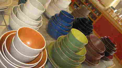 Cooper Hewitt Honors Colorful California Ceramics Company : NPR | Ceramics-Pottery | Scoop.it