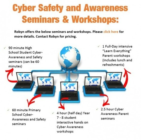Cyber Safety Expert and Educator - Cyber Safety Seminars for Adults and kids | Your Kids Online | A Little Bit of Everything... | Scoop.it
