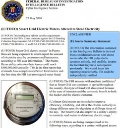 Puerto Rico smart meters believed to have been hacked – and such hacks likely to spread | Smart Grid, réseaux intelligents | Scoop.it