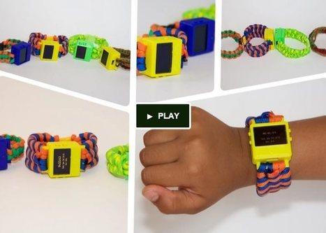 Un reloj inteligente para niños, para que aprendan programación e impresión 3D | Bits on | Scoop.it