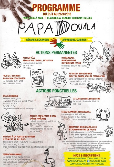 Papa Douala - Programmation 2015 | Alimentation21 | Scoop.it