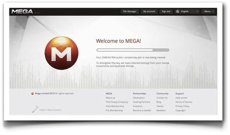 Mega: bienvenidos a la internet cifrada y distribuida | Linguagem Virtual | Scoop.it