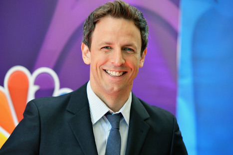 10 Times Seth Meyers Cracked Up At His Own Jokes | Alternate ways of thinking | Scoop.it