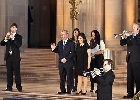 Scenes of the City: Ed Lee's Mayoral Inauguration | San Francisco's Life | Scoop.it