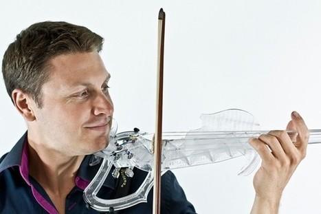 Un Stradivarius imprimé en 3D, ça sonne très bien | FabLab - DIY - 3D printing- Maker | Scoop.it