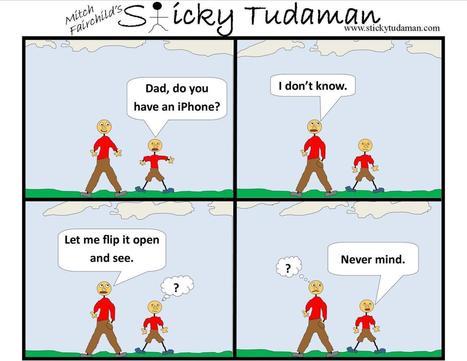 Sticky Tudaman: Flip'n Phone | Political Humor | Scoop.it
