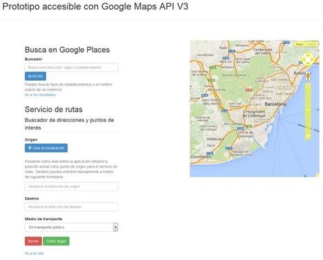 Mapas digitales y aplicaciones basadas en la localización: mejoras en su accesibilidad para las personas ciegas | Participacion 2.0 y TIC | Scoop.it