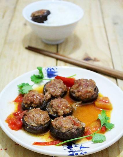 Nấm nhồi thịt sốt cà chua| Diễn đàn vé máy bay | Noithatmax.com | Scoop.it