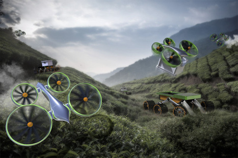 Concept Art Hints at the Awesome Future of Drones | Post-Sapiens, les êtres technologiques | Scoop.it
