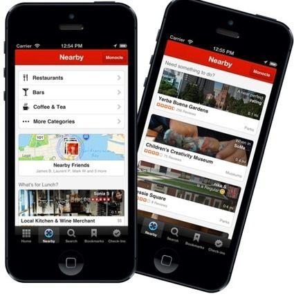 Yelp's Nearby Feature Gets Personal - Website Magazine | Small Business Marketing Strategies + Tips | Scoop.it