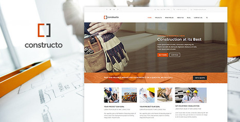 Constructo WordPress Construction Business Theme - ServerThemes.Net | Download Premium WordPress Themes | Scoop.it