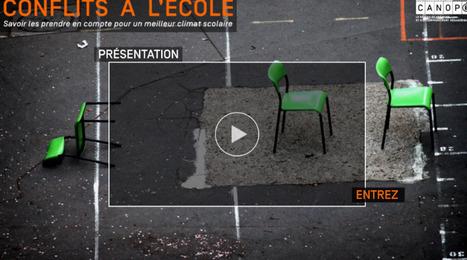 Webdoc Conflits à l'école - Canopé | Remue-méninges FLE | Scoop.it