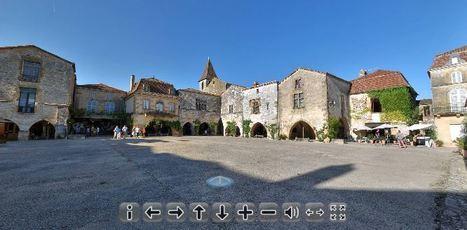 Histoire & Patrimoine : la Place des Cornières de Monpazier | GenealoNet | Scoop.it