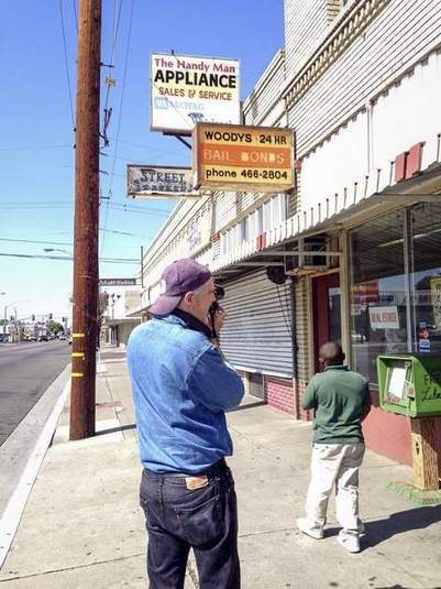 Photographer explores worth of words - Stockton Record | Projector Enclosures | Scoop.it