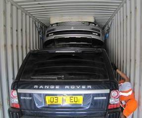 How many Range Rovers could you fit in a single container? | Stolen Vehicle Recovery | Scoop.it