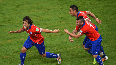 Chile vs. Australia: Final score 3-1, Chile clinch surprisingly tight game | The Brazil World Cup | Scoop.it
