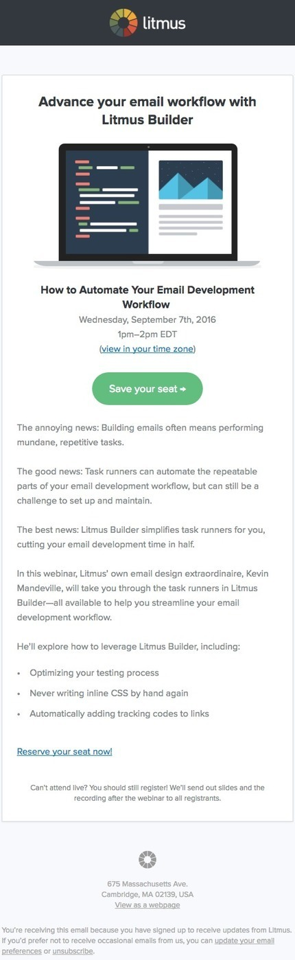19 Lead Nurturing Email Examples You'll Want to Steal | travailleurs autonomes | Scoop.it