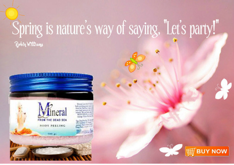 Dead Sea Cosmetics, Aloe Vera Beauty | Free Shipping,Mineral Line | best skin care products | Scoop.it