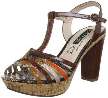 &&&   Queens HCL2209 brown 2408700, Damen Sandalen, Braun (brown 00), EU 38 | sandale online shop | Scoop.it