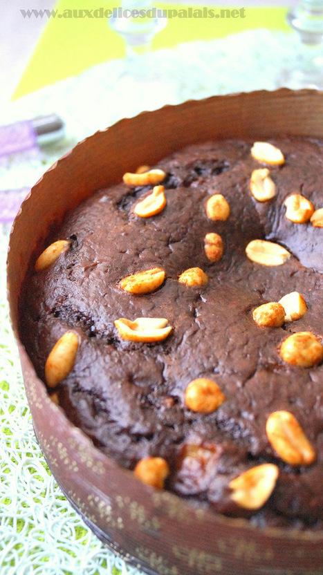 Moelleux au chocolat & bananes sans beurre | Recette Dessert Gâteau & Cake | Scoop.it