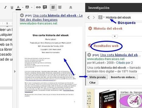 Cómo documentar un texto con Google Drive | Nube de Ideas | (Todo) Pedagogía y Educación Social | Scoop.it