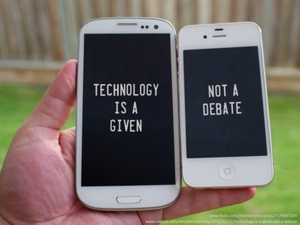 Technology is a given, not a debate [SLIDE] | Dangerously Irrelevant | Technologie Éducative | Scoop.it
