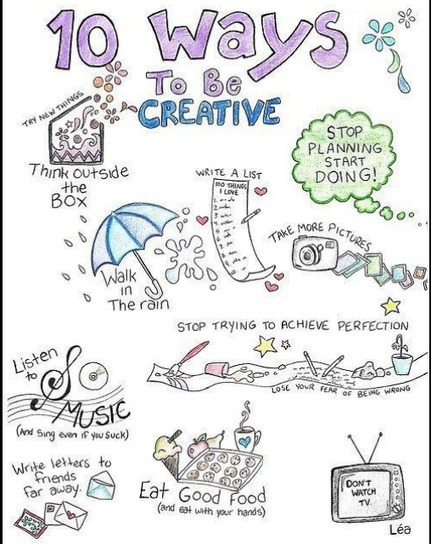 10 Ways To Be More Creative | Leadership, Innovation, and Creativity | Scoop.it