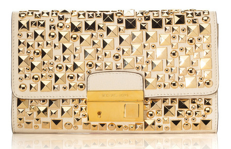 Rock the Michael Kors Gia Clutch This Summer | Fashion News by JustLuxe | women fashion clutches | Scoop.it