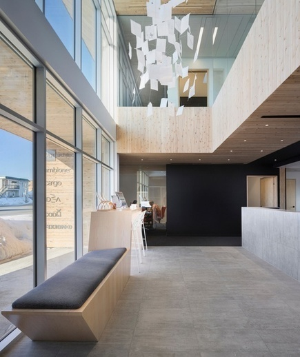 STGM architects builds a sustainable office block in quebec   GC's   Scoop.it