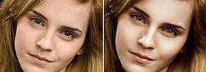 23 Celebrities Before & After Photoshop   Graphic Design   Scoop.it