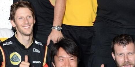 Komatsu, l'ombre de Grosjean - BFMTV.COM | F1 au top | Scoop.it