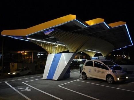 Les stations solaires, le futur des stations-services routières | Idées responsables à suivre & tendances de société | Scoop.it