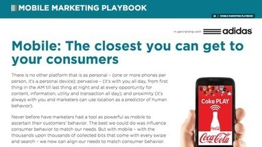 Tirer parti de la puissance du mobile dans le mix marketing : The ... | Le Mobile | Scoop.it