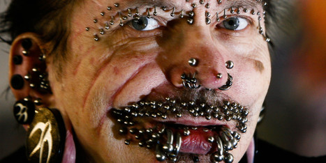 World's Most Pierced Man Denied Entry To Dubai   Xposed   Scoop.it