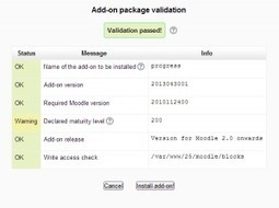 Managing Add-ons in Moodle 2.5 | Moodle Mahara | Scoop.it
