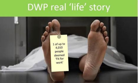 DWP death statistics - IDS's obfuscation is no answer..... | SANCTIONS | Scoop.it