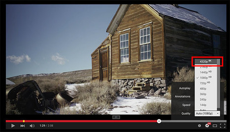 Hello Future: YouTube Now Officially Hosts 8K Videos | 4k, 8k, 3D | Scoop.it