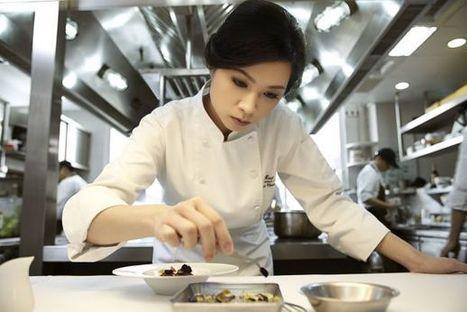 Resto / Lanshu Chen, chef du restaurant Le Moût, Meilleure femme chef Asie Veuve Clicquot | Food & chefs | Scoop.it